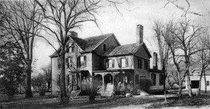 Postcard of the Cleveland Birthplace, circa 1908
